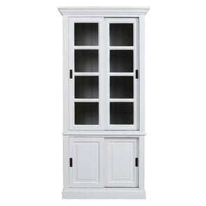 Vitrine 2 portes blanche - Rhode Island