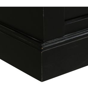 Buffet 3 portes vitrées noir - Rhode Island - Visuel n°11