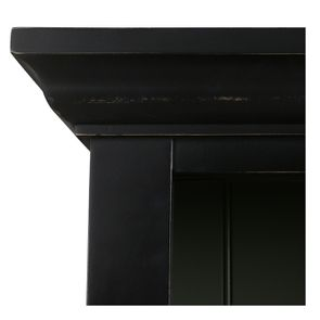 Buffet 3 portes vitrées noir - Rhode Island - Visuel n°13