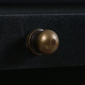 Buffet 3 portes vitrées noir - Rhode Island - Visuel n°15