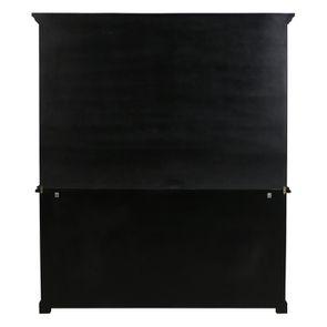 Buffet 3 portes vitrées noir - Rhode Island - Visuel n°10