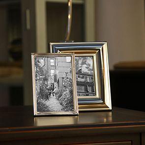 Cadre photo en métal