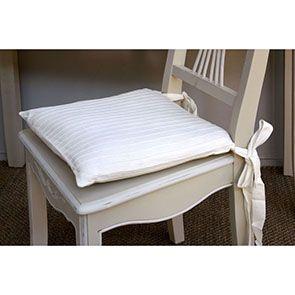 Chaise en bois sable rechampis blanc - Lubéron - Visuel n°6
