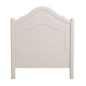 Lit enfant 90x190 en bois sable rechampis blanc - Lubéron - Visuel n°5