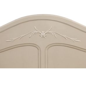 Lit 180x200 en bois sable rechampis blanc - Lubéron - Visuel n°12