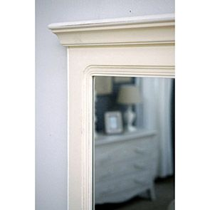 Miroir trumeau en bois beige - Lubéron - Visuel n°5