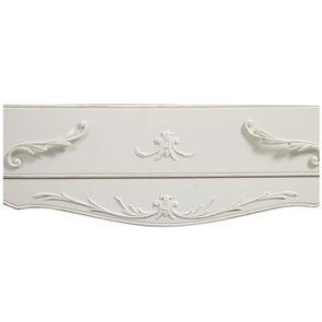 Commode 3 tiroirs en bois blanc vieilli L106 cm - Lubéron - Visuel n°16