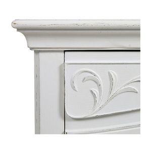 Commode blanche 3 tiroirs en bois L125 cm - Lubéron - Visuel n°13