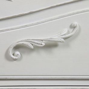Commode blanche 3 tiroirs en bois L125 cm - Lubéron - Visuel n°14