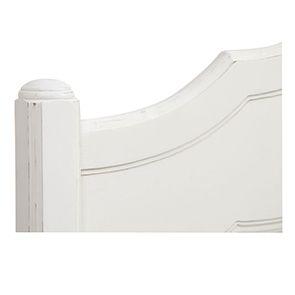Tête de lit 160 blanche en bois - Lubéron - Visuel n°5