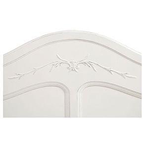 Tête de lit 160 blanche en bois - Lubéron - Visuel n°6