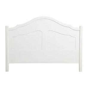 Tête de lit 160 blanche en bois - Lubéron - Visuel n°3