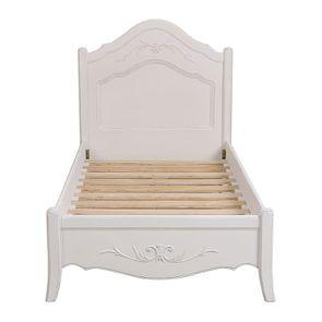 Lit 90x190 en bois blanc vieilli - Lubéron - Visuel n°8