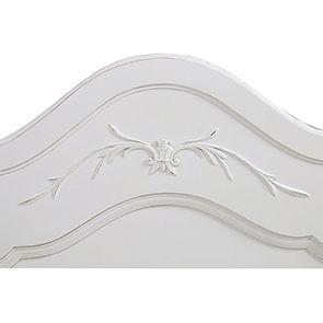 Tête de lit 90 blanche en bois - Lubéron - Visuel n°4