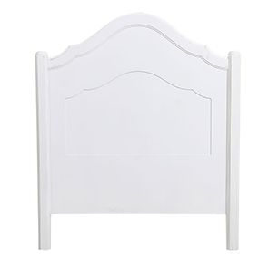 Tête de lit 90 blanche en bois - Lubéron - Visuel n°9