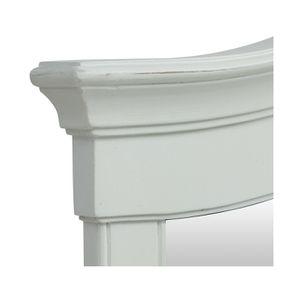 Grand miroir blanc vieilli - Lubéron