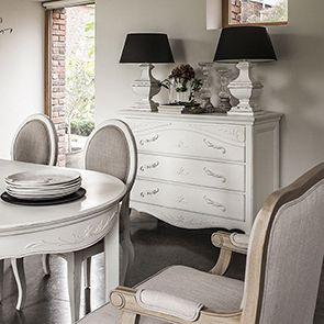 Table ovale extensible blanche 4 à 8 personnes - Lubéron - Visuel n°3