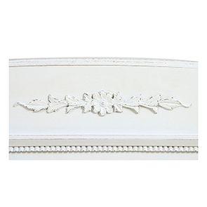 Lit 180x200 en bois blanc vieilli - Gustavien - Visuel n°10