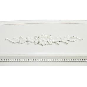 Tête de lit 180 blanche en bois - Gustavien - Visuel n°6