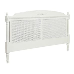 Tête de lit 180 blanche en bois - Gustavien - Visuel n°2