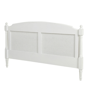 Tête de lit 180 blanche en bois - Gustavien - Visuel n°4