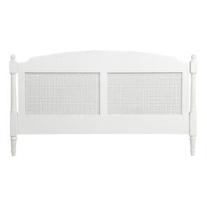 Tête de lit 180 blanche en bois - Gustavien - Visuel n°9