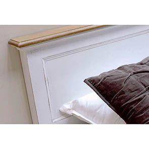Tête de lit 160 en pin massif - Esquisse - Visuel n°2