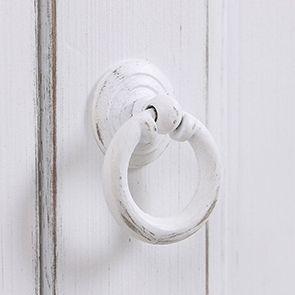 Armoire penderie bonnetière blanche 1 porte - Esquisse - Visuel n°11