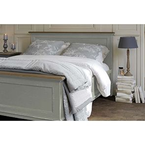 Tête de lit 160 en pin gris clair vieilli - Esquisse - Visuel n°2