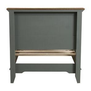 Lit enfant 90x190 en pin gris clair vieilli - Esquisse - Visuel n°5