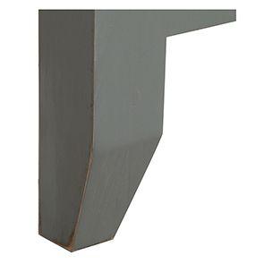 Tête de lit 90 en pin gris clair vieilli - Esquisse - Visuel n°3