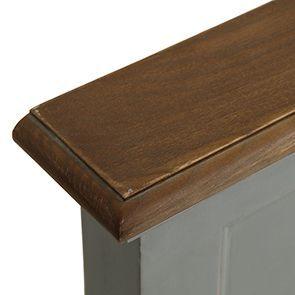 Tête de lit 90 en pin gris clair vieilli - Esquisse - Visuel n°6