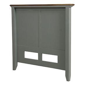 Tête de lit 90 en pin gris clair vieilli - Esquisse - Visuel n°7