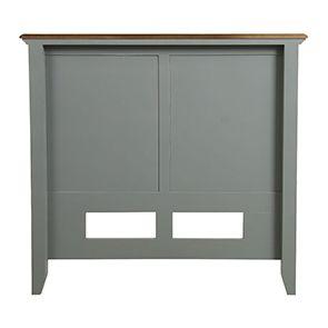 Tête de lit 90 en pin gris clair vieilli - Esquisse - Visuel n°8