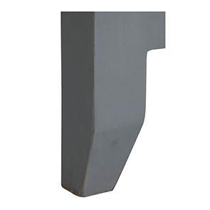 Tête de lit 180 en pin gris clair vieilli - Esquisse - Visuel n°3