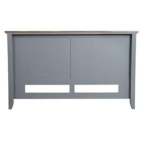 Tête de lit 180 en pin gris clair vieilli - Esquisse - Visuel n°8