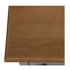 Table basse rectangulaire grise en pin - Esquisse - Visuel n°11