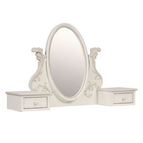 Miroir coiffeuse style Louis XV - Perle