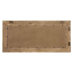 Grand miroir rectangulaire en pin gris plume - Esquisse - Visuel n°4