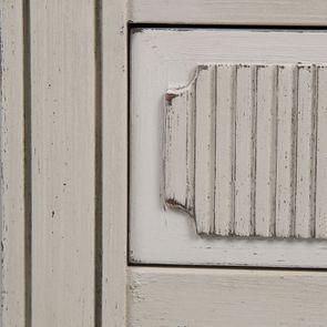 Vitrine 2 portes vitrées en pin blanc craie - Montaigne - Visuel n°12
