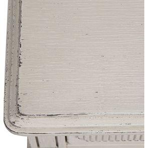 Commode 3 tiroirs en pin blanc craie - Montaigne - Visuel n°10