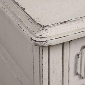 Commode 3 tiroirs en pin blanc craie - Montaigne - Visuel n°11