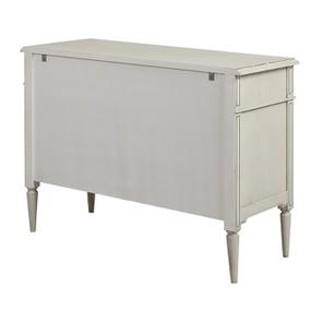 Commode 3 tiroirs en pin blanc craie – Montaigne - Visuel n°7