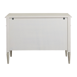 Commode 3 tiroirs en pin blanc craie – Montaigne - Visuel n°8