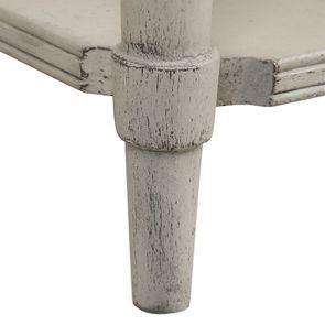 Table basse 4 tiroirs en pin blanc craie - Montaigne - Visuel n°14