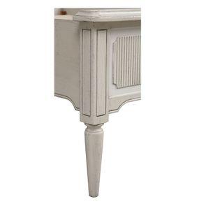 Lit 140x190 en pin blanc craie - Montaigne - Visuel n°10