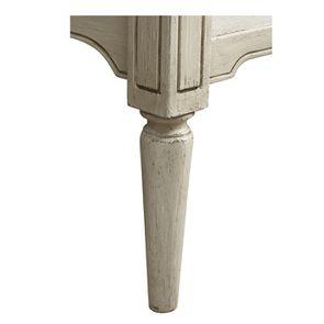 Lit 180x200 en pin blanc craie - Montaigne - Visuel n°10