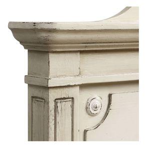 Lit 180x200 en pin blanc craie - Montaigne - Visuel n°12