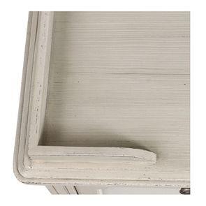 Commode 2 portes 1 tiroir en pin blanc craie - Montaigne - Visuel n°11
