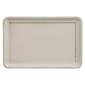 Bout de canapé 1 tiroir en pin blanc craie – Montaigne - Visuel n°18